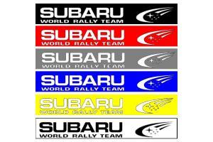 Bandeau pare soleil Subaru SWRT