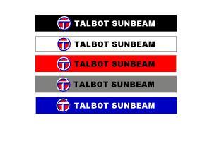 Bandeau pare soleil Talbot Sunbeam