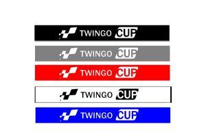 Bandeau pare soleil Twingo Cup