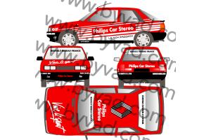 Kit déco R11 Philips Rouge