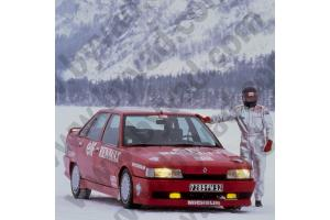 Kit déco R21 - RECORD SUR GLACE 1988 - Jean-Pierre Malcher