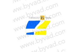 Sticker de pare choc avant style mégane R25