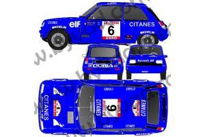 Kit déco R5 Alpine Corse 79