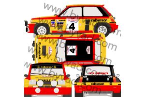 Kit déco R5 Turbo Calberson Tour de Corse 1980