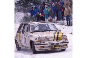 Kit déco R5 GT Alain Oreille Monte Carlo 1989