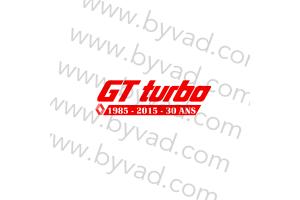 Sticker R5 Gt Turbo 30 ans