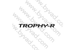 Sticker de lame TROPHY-R Mégane 4