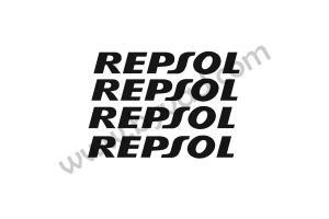 Kit 4 stickers Repsol