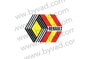 Sticker Renault Sport 1980 Espagne