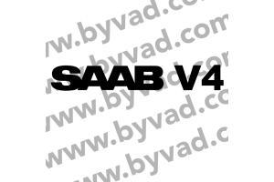 Sticker SAAB V4