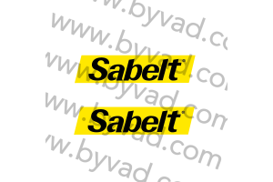 2 Stickers Sabelt