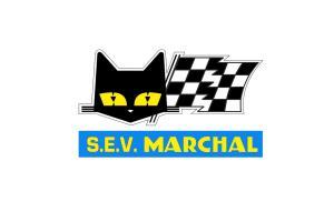 Autocollant SEV Marchal Bleu