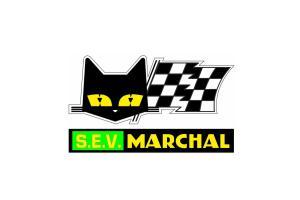 Autocollant SEV Marchal Vert