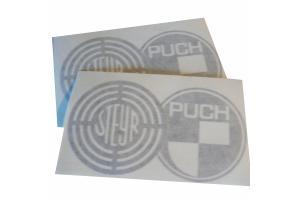 2 Stickers Steyr Puch
