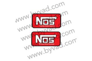 Deux stickers NOS