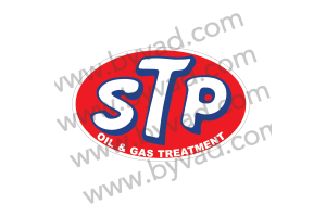 Sticker STP oil & gas treatment