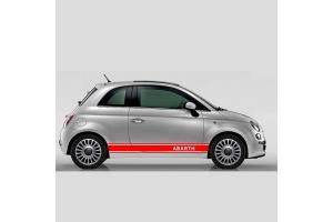 Bandes latérales Fiat 500 Assetto Corse