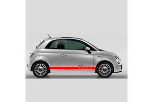 Bandes latérales Fiat 500 Assetto 500