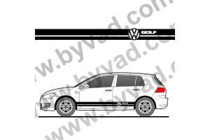 Bandes latérales VW Golf