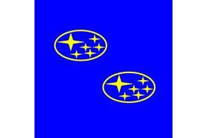 Kit 2 stickers SUBARU