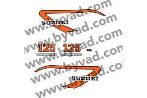 Kit stickers Suzuki  TS 125 M 1975