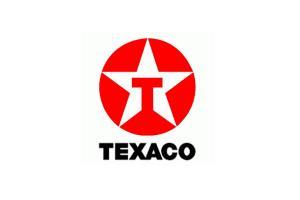 Autocollant Texaco Etoile