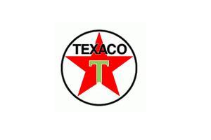Autocollant Texaco Etoile modèle 2