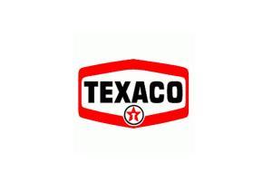 Deux autocollants Texaco