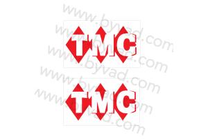 2 Stickers TMC