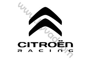 Sticker de toit Citroen Racing
