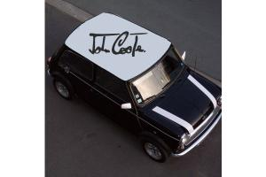 Sticker de toit Austin mini John Cooper