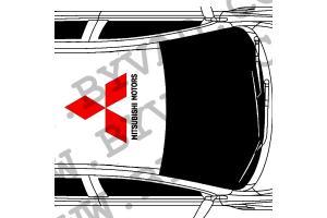 Sticker de toit Mitsubishi Motors