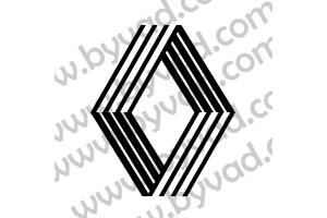 Sticker de toit Renault grand logo