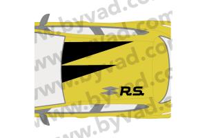 Sticker de Toit style RS18