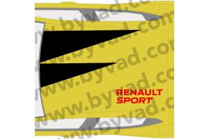 Sticker de Toit style RS18 RENAULT SPORT