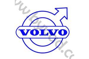 Sticker de toit Volvo