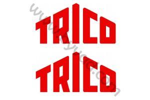 2 Stickers Trico