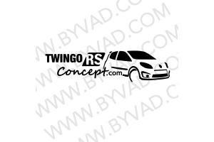 Sticker TWINGORSCONCEPT.COM