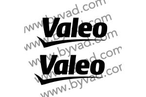 2 Stickers Valeo 15 cm