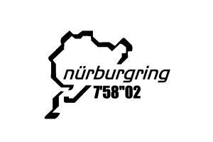 2 Stickers Nurburgring à personnaliser