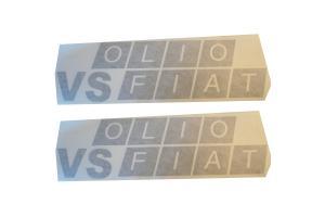 2 Stickers VS Olio Fiat