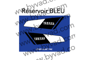 Kit sticker Yamaha 125 DTE 1974