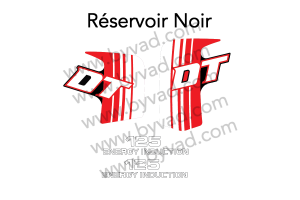 Kit autocollants moto YAMAHA 125 DTLC 10V