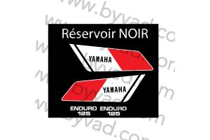 Kit sticker Yamaha DTMX 125 Enduro 1978