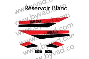 Kit sticker Yamaha DTMX 125 Enduro 1980