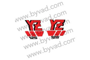 Kit stickers YAMAHA 125 YZ U 1988