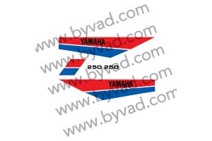 Kit sticker Yamaha DTMX 250 Enduro 1980