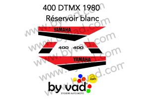 Kit sticker Yamaha DTMX 400 Enduro 1980