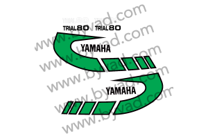 Kit complet stickers YAMAHA TY 80 1K6