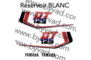 Kit sticker Yamaha DTMX 125 Enduro 1986 à 1990